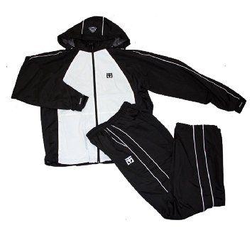 MOOTO TRACK SUIT training sports wear Korean TaeKwonDo Tae Kwon Do uniforms BW + KZZANG Sticker gift (180 (170cm~180cm)(5.57ft~5.90ft))