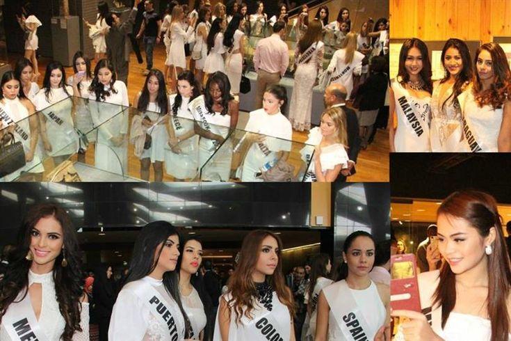 Miss Eco International 2017 contestants visit Bibliotheca Alexandria