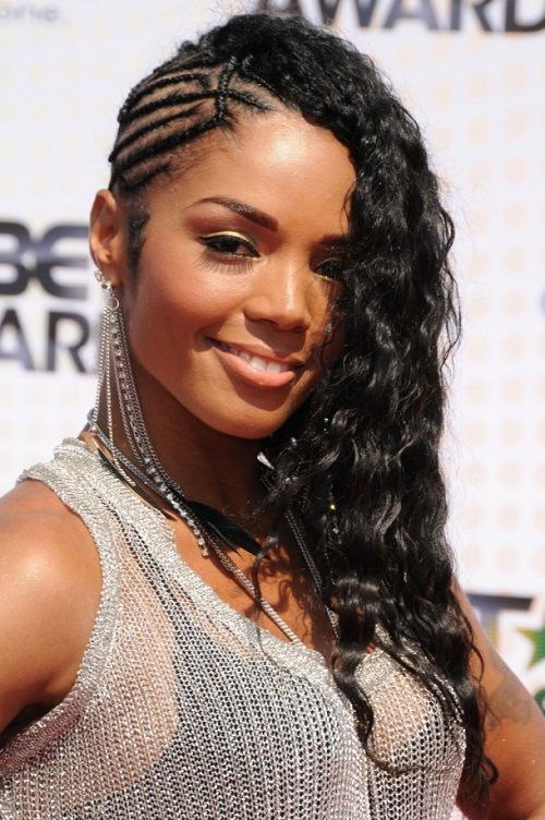 Crochet Braids On One Side : Rasheeda, Trends and Side braid hairstyles on Pinterest