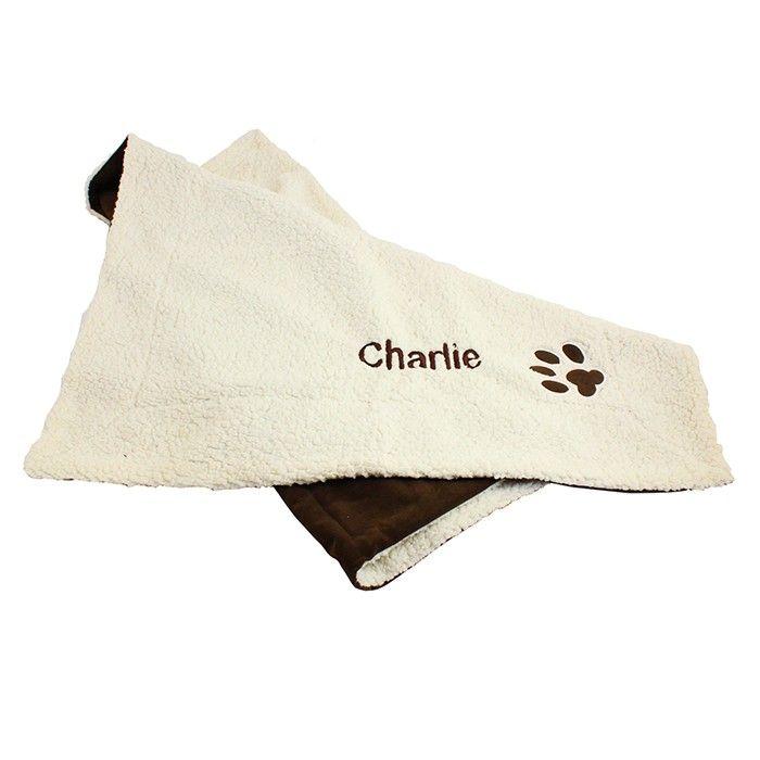 Personalised Luxury Dog Blanket   Personalised Pet Blankets