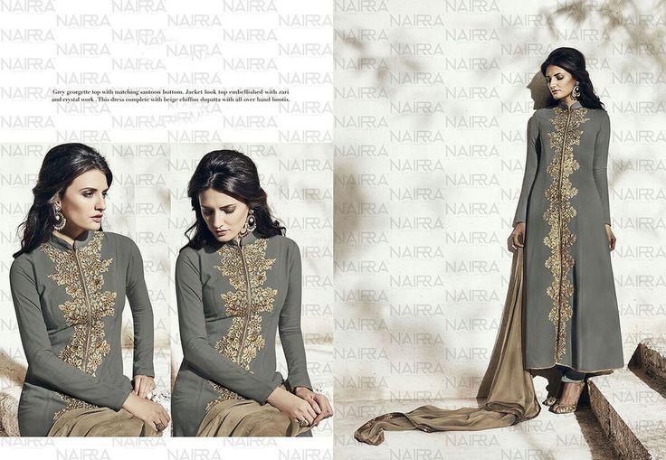Bollywood Anarkali Indian Designer Suit Partydress Pakistani Salwar Ethnic 2148…