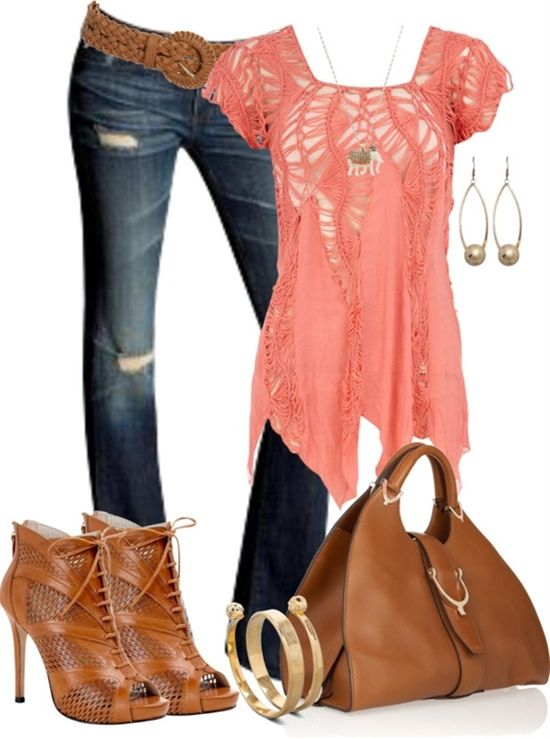 """love everything but the shoes - Click image to find more womens fashion Pinterest pins """"✮✮Feel free to share on Pinterest"""" ♥ღ www.fashionandclothingblog.com"""