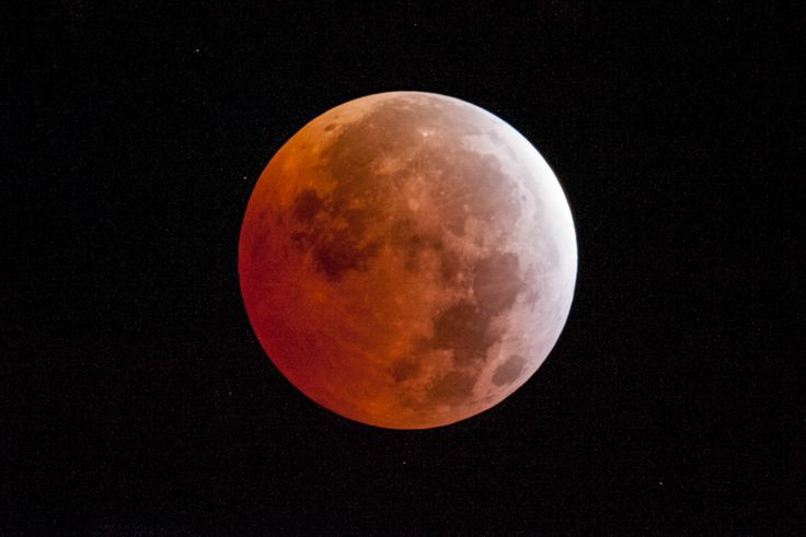 Le foto dell'eclissi lunare totale - Il Post