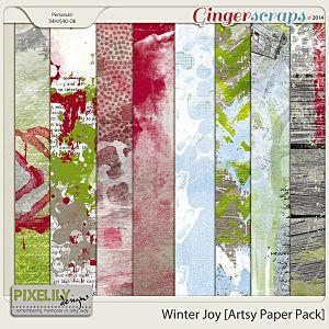 Winter Joy [Artsy Paper Pack]