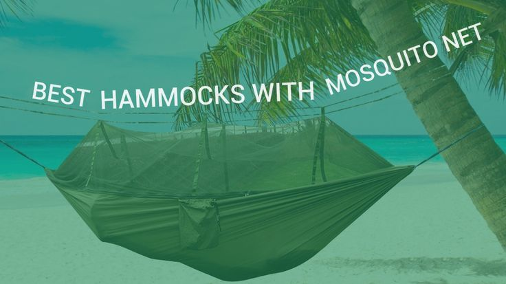 Hammocks with mosquito net and hammock bug nets are a great alternative to tents when you go camping, backpacking or hiking.
