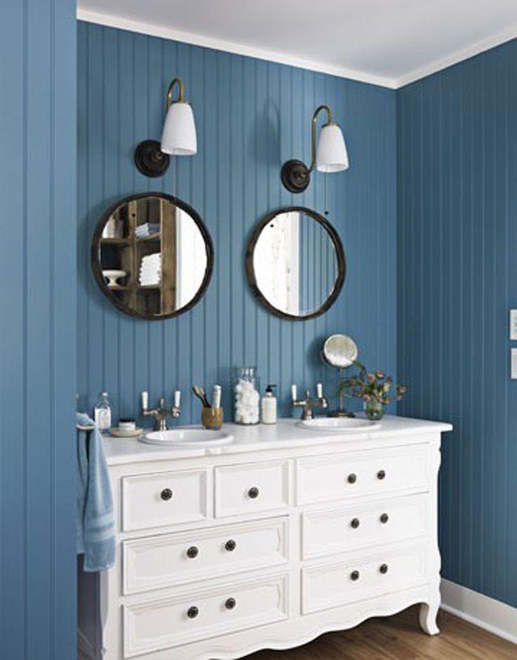 Colorful ideas. #therapy4home #bagno #blu #design #home