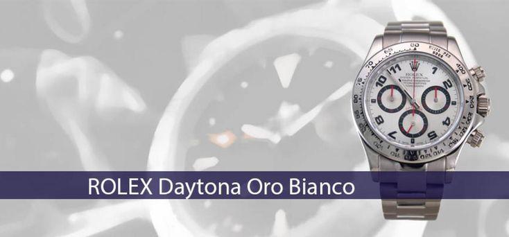 ROLEX Daytona Oro Bianco Bracciale Oro Bianco Ref. 116509