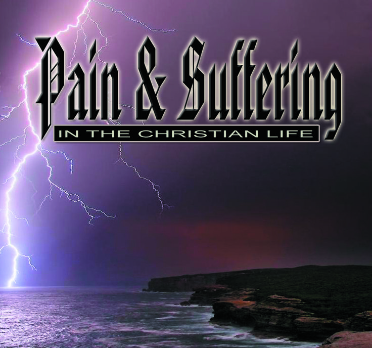 PAIN & SUFFERING - Though suffering counts us worthy participants of the Kingdom of God, many of us misunderstand the point of suffering and become discouraged. Learn what the Bible says about suffering and pain. 1-CD $5 http://www.liferecovery.com/sunshop/index.php?l=product_detail&p=17052