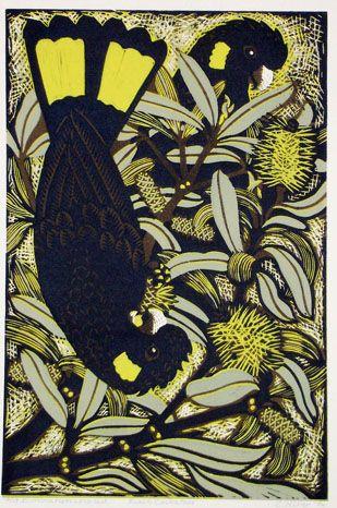 Kit Hiller - Black Cockatoos