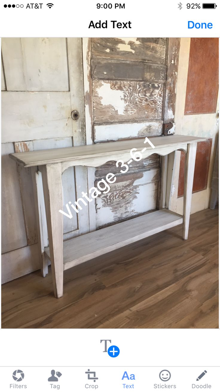 Sofa Table Solid Wood Made In Corpus Christi, TX 2017