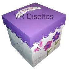 cajas pintadas bebe