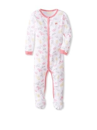 60% OFF Coccoli Baby Sunny Days Footie (Girls Beach Print)