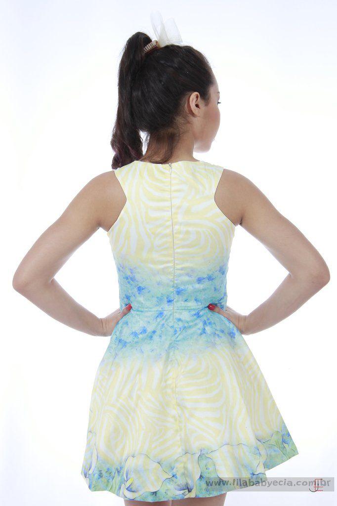 Vestido Infantil Diforini Moda Infanto Juvenil 010769