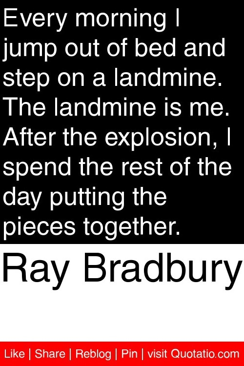 the writings and lectures of ray bradbury Ray bradbury world, celebrating life through the writings of the world's greatest writer.