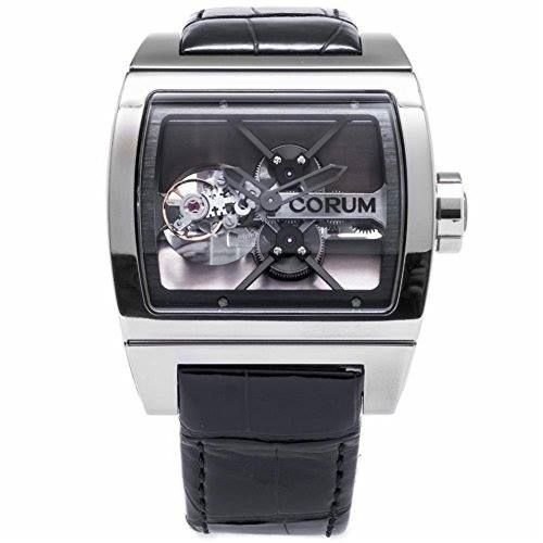 "http://ift.tt/2rnD83L Check Price https://goo.gl/DyTW4c  Corum Ti Bridge Tourbillon swiss-automatic mens Watch 022.700.04/0F01 (Certified Pre-owned)                            Pre-Owned Corum Ti Bridge Tourbillon features a 41.5mm titanium tonneau case and curved sapphire crystal. The dial of this limited edition of 99 consists of a ""Bridge"" movement with flying tourbillon in plain view. The time is indicated by the hands at center which are partly skeletonized and also presented in…"