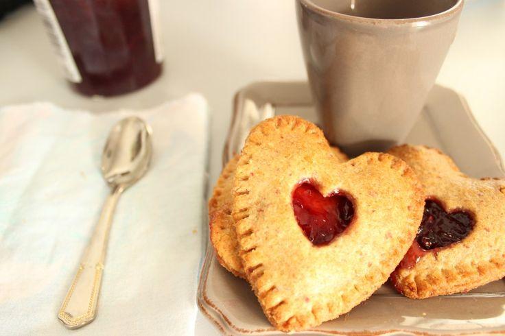 Biscuits fourrés, noisette et fruits rouges – La Ligne Gourmande