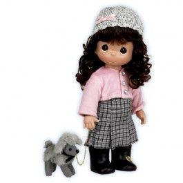 Precious Moments Doll...Have A Poodle Doodle Day