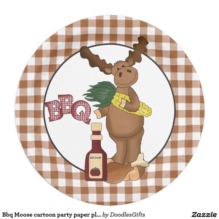 Best Moose Cartoon Ideas On Pinterest Christmas Charts - Backyard bbq party cartoon