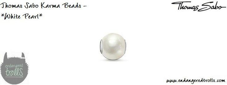 Thomas Sabo Karma Beads White Pearl