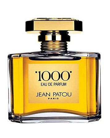 Jean Patou 1000 Eau de Parfum Jewel Spray. The completely mystifying fragrance.  Main Ingredients: May Rose and Jasmine from Grasse, Osmanthus, Sandalwood. Top Note: Osmanthus; Violet leaves; Lily of the valley - Heart Note: Rose oil damascene; Rose absolute centifolia; Jasmine absolute - Base Note: Indonesian Patchouli; Mysore Sandalwood