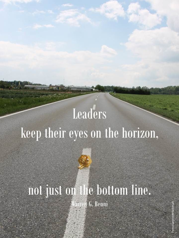 Leaders keep their eyes on the horizon