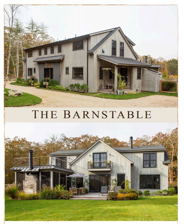 Barnstable Barn Style House Barn House Plans Pole Barn House Plans
