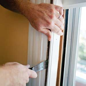 Airtight Windows in 9 Steps  Don't replace those drafty windows. Install weatherstripping and save a lot of money.