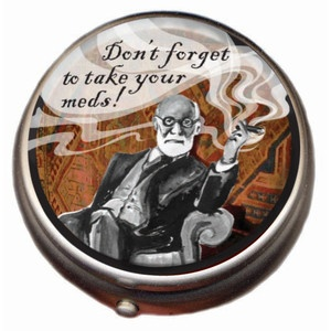 Freud Pill Box, now featured on Fab.