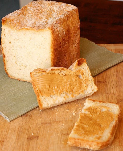 bread machine English muffin bread-  Made this tonight--soo good!!! Might try in a loaf pan next time!