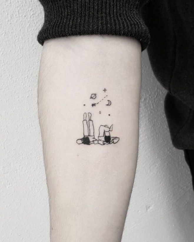 The most beautiful astronomical tattoos that have your head in the stars