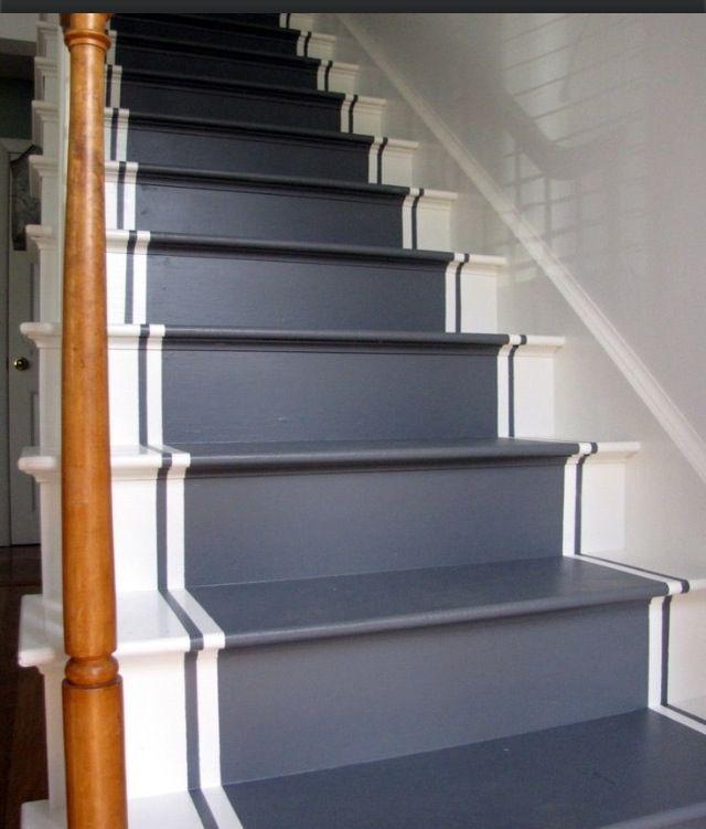 Refinish Stairs