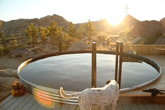 Grain silo pool grain bin homes pinterest for How to build a grain bin swimming pool