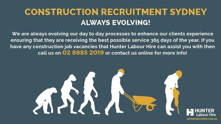 Construction Recruitment: Our Core Principles for Clients