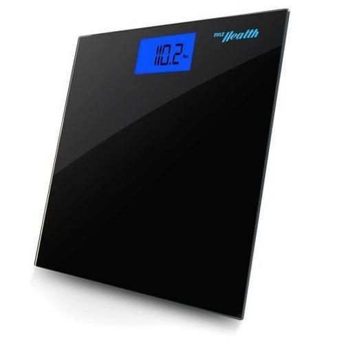 Bluetooth Digital Weight Scale and 'Pyle Health' App (Black)