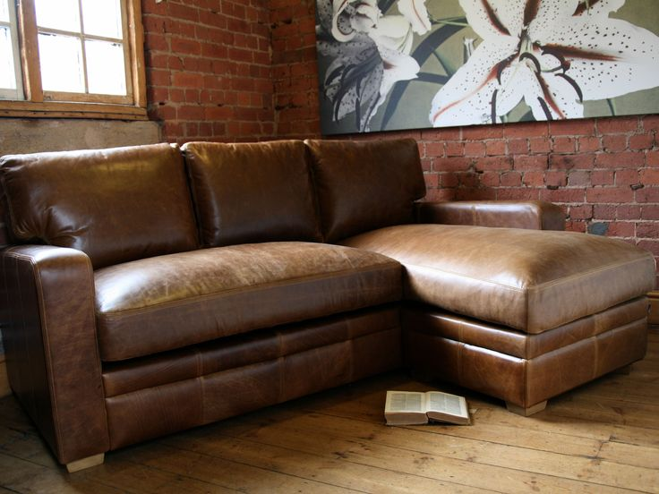 33 best Leather Furniture images on Pinterest Leather furniture - chesterfield sofa holz modern