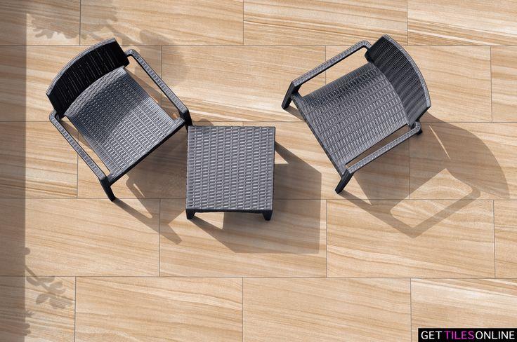 Sandstone Outdoor (R10) 300x600 (Code:01332) - Get Tiles Online