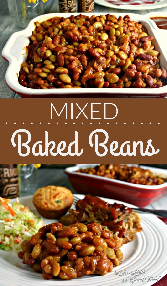 Mixed Baked Beans | Life, Love, and Good Food