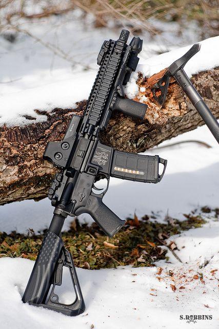 AR-15 SBR by S.Dobbins, via Flickr - CZ 83 Custom wood Grips http://www.rgrips.com/en/cz-8283-grips/109-cz-82-83-grips.html