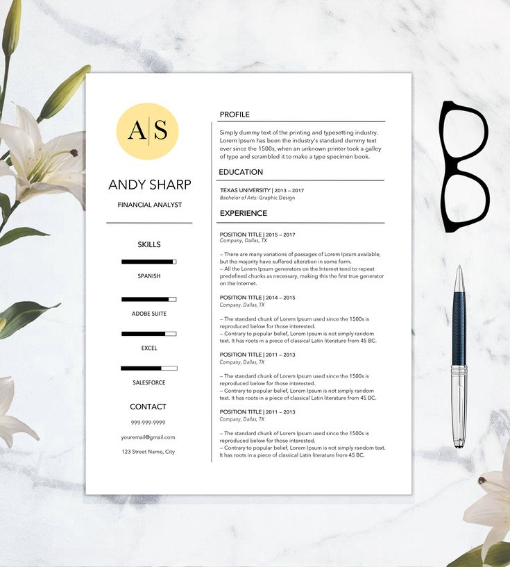 Best 25+ Resume References Ideas On Pinterest Resume Ideas   Sample Of Resume  Reference Page  Sample Resume Reference Page