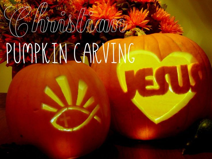 Christians can carve a pumpkin for Halloween that is not scary or a jack-o-lantern, but one that shares the message of Jesus, the Light of the World.  Here are some free printable stencil templates.