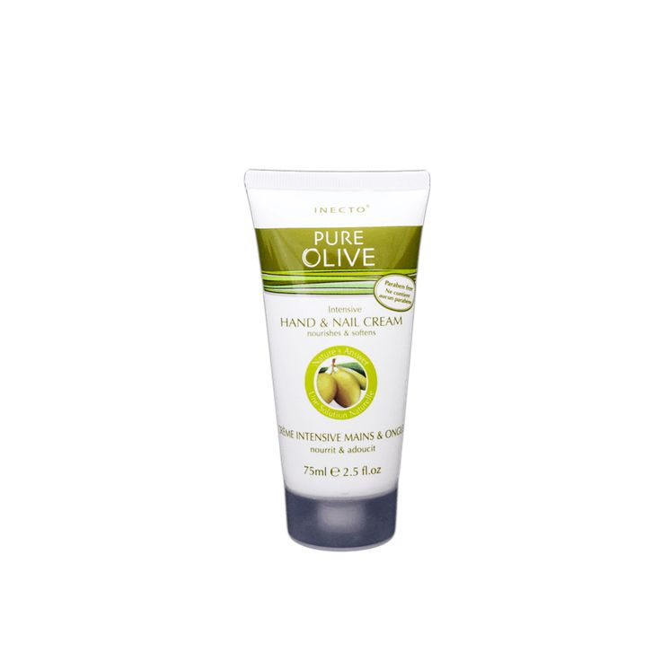 Inecto Pure Olive Intensive Hand & Nail Cream (75ml)