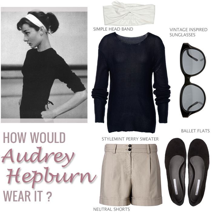 The Baxter Sweater inspired by Audrey Hepburn