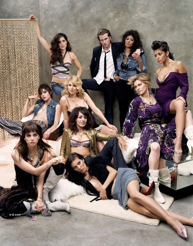 The L Word...love this pic! just jenny looks like a crazy hoe