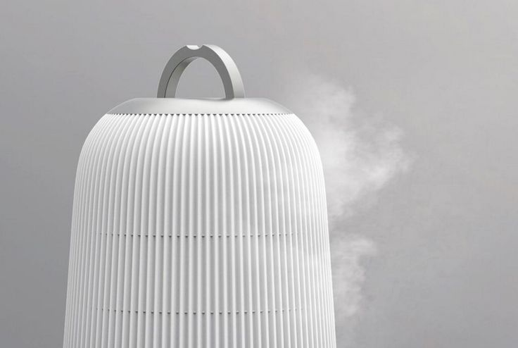 WATERFALL . Home humidifier for Chungho . By Matthieu Lehanneur
