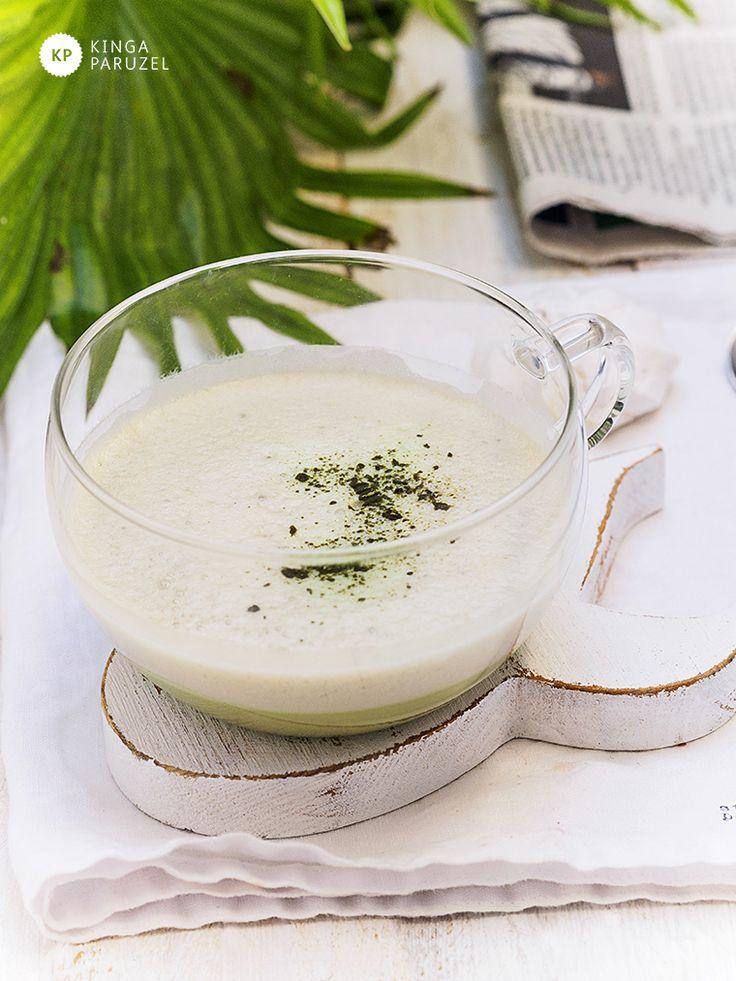 Matcha chai latte - Ale Babka!!! i robi to co lubi:)