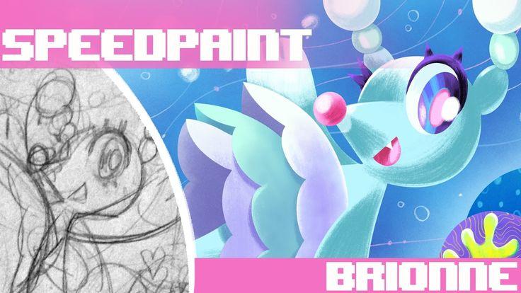 Pokemon Alphabet - Brionne Speedpaint