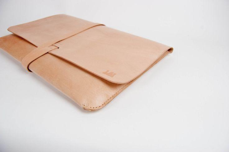 15 MacBook Pro Case MacBook Pro Portfolio - Leather, Hand-Stitched, Top Grade. $199.00, via Etsy.