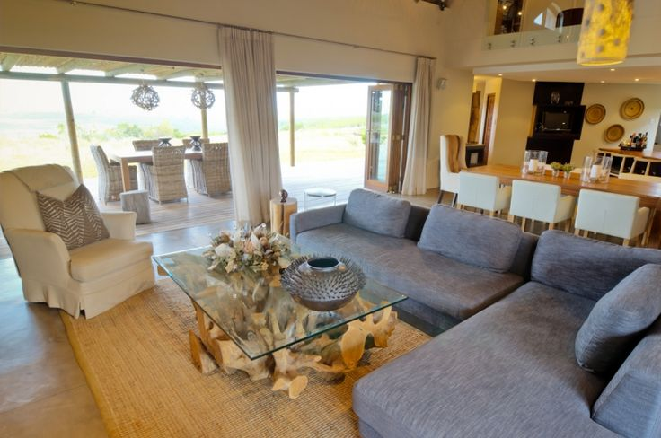 Villa lounge area