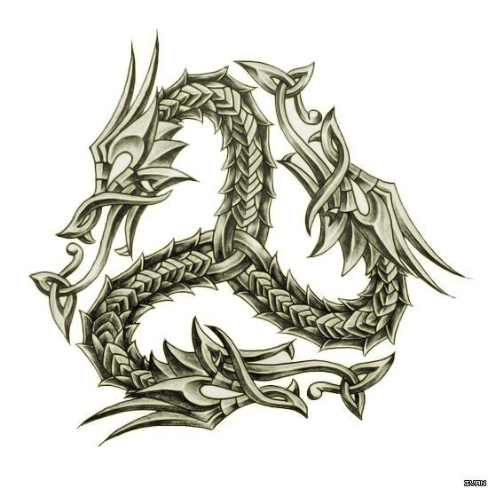 Scottish Dragon Tattoos: 25+ Best Ideas About Celtic Dragon On Pinterest