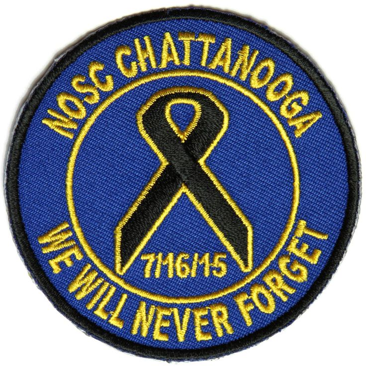 NOSC CHATTANOOGA WE WILL NEVER FORGET 7/16/15 ROUND PATCH NOSC CHATTANOOGA WE WILL NEVER FORGET 7/16/15 ROUND PATCH [4842CP] - $6.00 : Hat n Patch, Military Hats, Patches, Pins and more